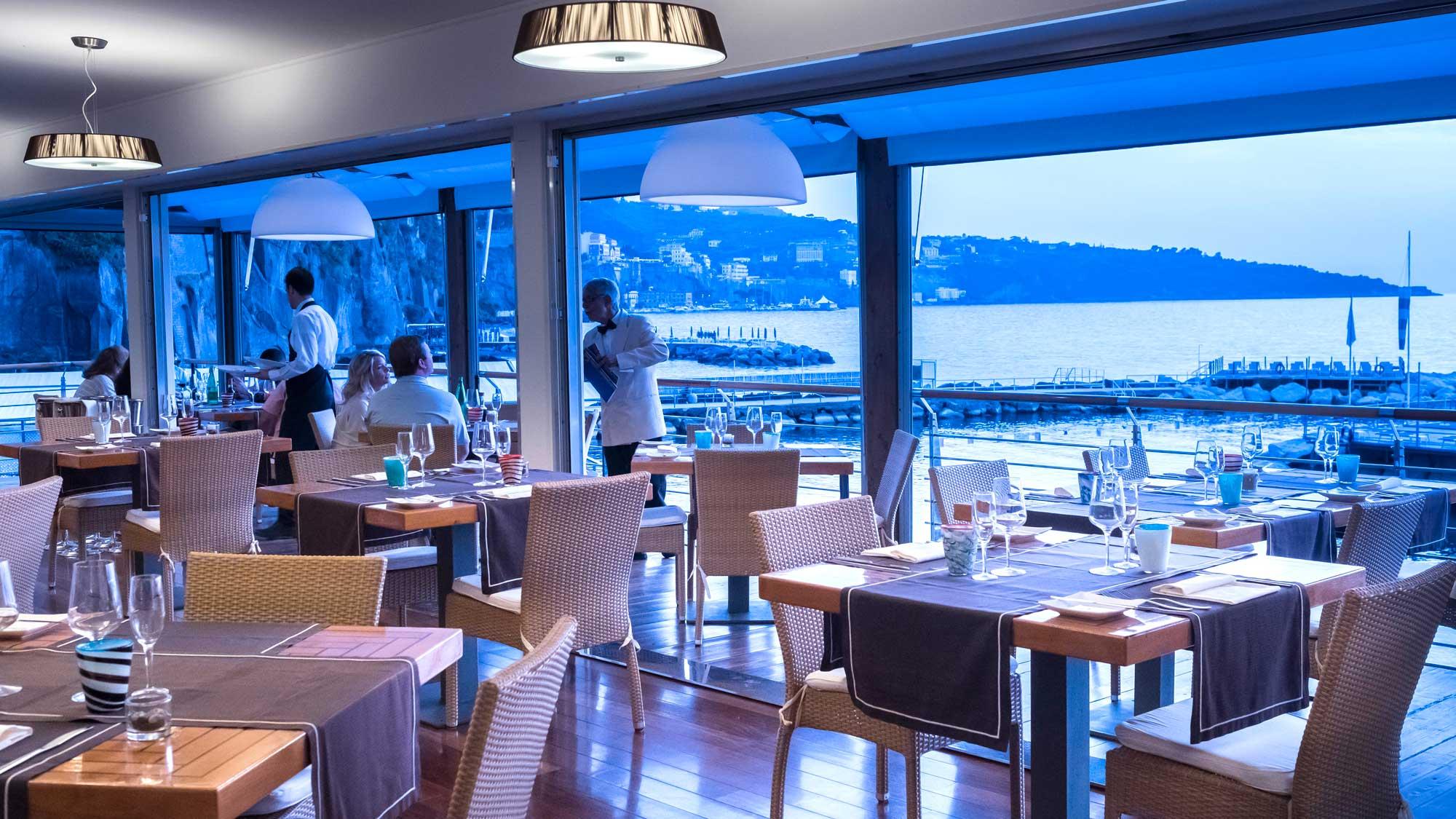 La Marinella Seaside restaurant Sorrento